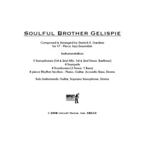 Soulful Brother Gillespie***