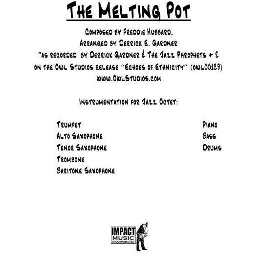 The Melting Pot***
