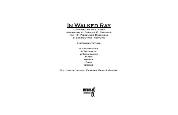In Walked Ray