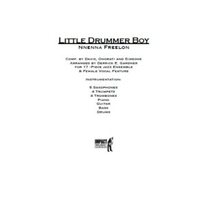 Little Drummer Boy***
