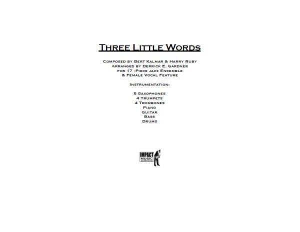 Three Little Words***