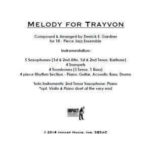 Melody for Trayvon**
